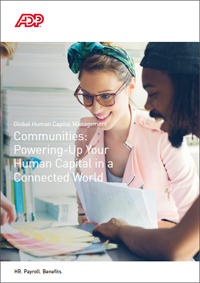 Communities: Powering-Up Your Human Capital in a Connected World