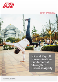 HR and Payroll Harmonisation: fundamental strength to business agility