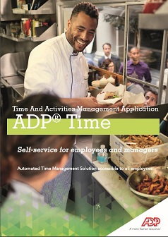 ADP® Time: Time And Activities Management Application
