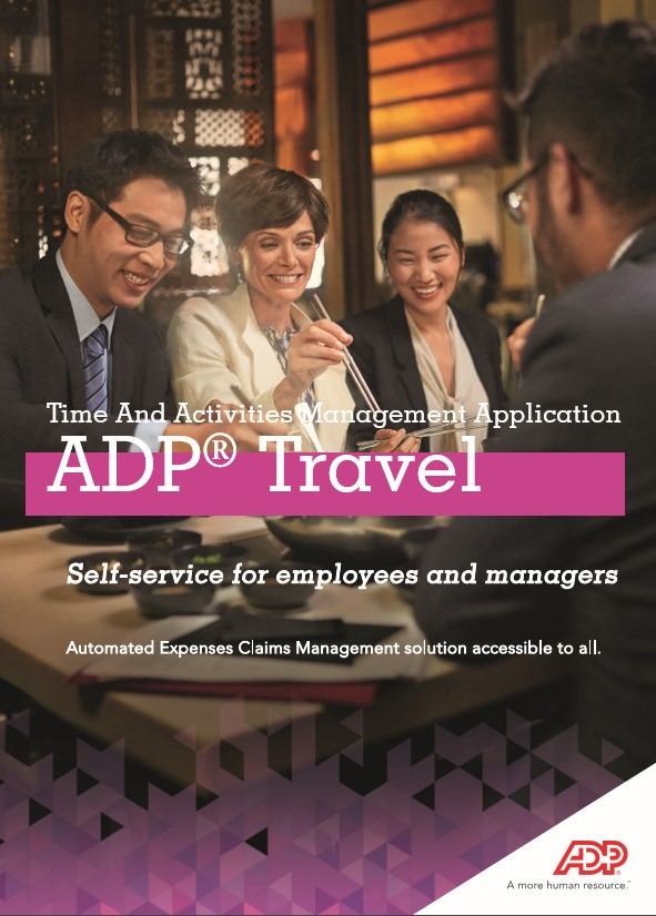 ADP® Travel: Time And Activities Management Application
